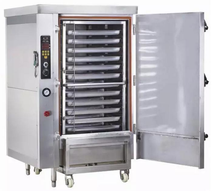 大型厨房烘烤设备:商用蒸饭柜的种类
