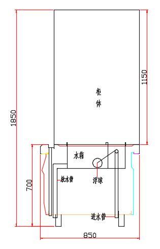 室内水电路cad设计图展示