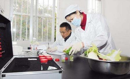 食品安全快检设备保障8万多师生用餐安全