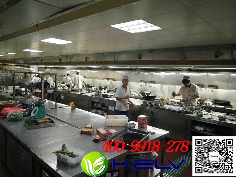 金大陆海鲜世界厨房油烟净化整改工程