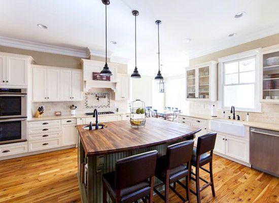技术新闻 正文  开放式厨房常采用中岛式布局,常常会有中岛操作台,而