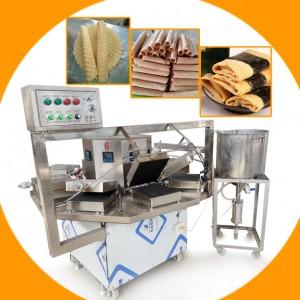 蛋卷机价格烘焙蛋糕房专用全自动蛋卷机
