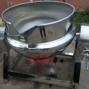 爆米花行星搅拌炒锅  老干妈酱料炒锅设备价格 不锈钢小型炒肉锅