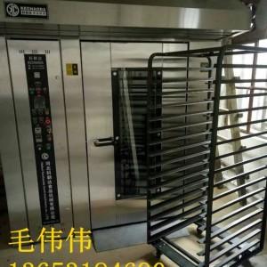 质量厂家供应面包烤炉水果烤箱燃电燃气多功能热风旋转烤炉送架车