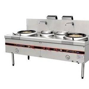 双炒双温灶,厨房设备,酒店用品,灶具系统