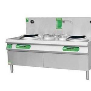 电磁双炒双温灶 厨房设备  酒店用品