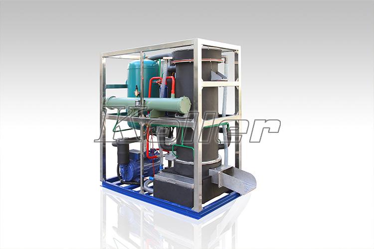科勒尔管冰机结构及工作原理