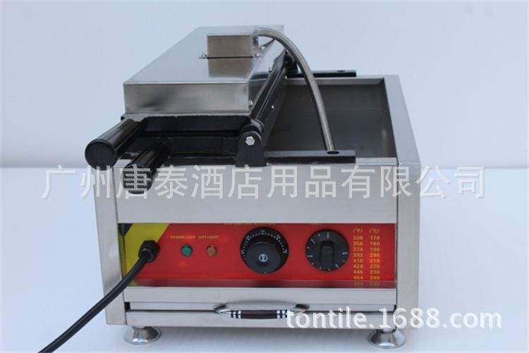 供应韩国商用不锈钢单板电热核桃华夫机松饼机蛋糕小吃设备np-738