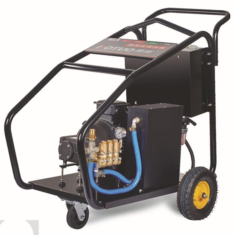 小型电动道疏通机_现货直销电动式管道高压清洗机移动便携式bf2150大功率管道疏通机