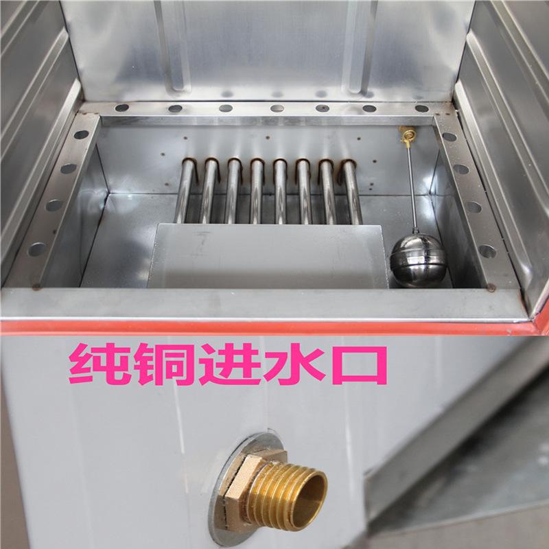 燃气蒸饭车6盘8-24层商用液化气蒸饭柜天然气蒸箱煤气蒸饭机节能