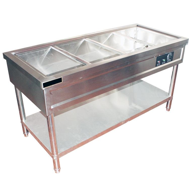 四格五格不锈钢保温售饭台 干净卫生 厂家直销保证质量 欢迎选购