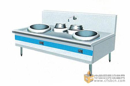 商用厨房设备-两主两副电磁灶