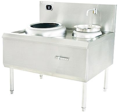 商用厨房设备 单炒单尾电磁灶