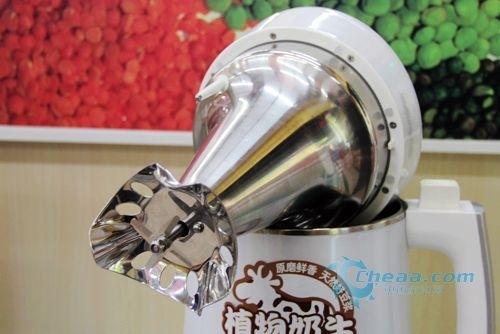 清晨一杯豆浆 九阳豆浆机d18d