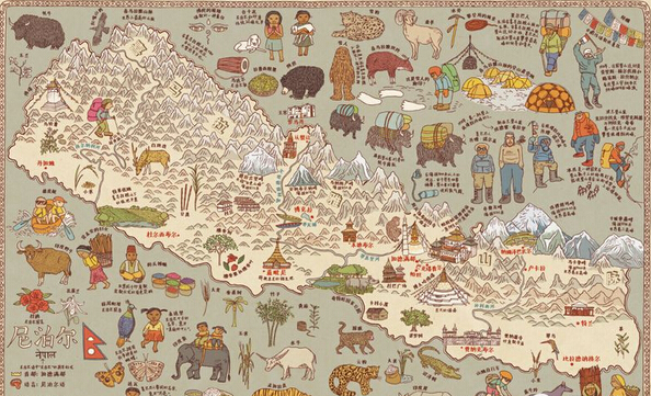 中国省市地图无字